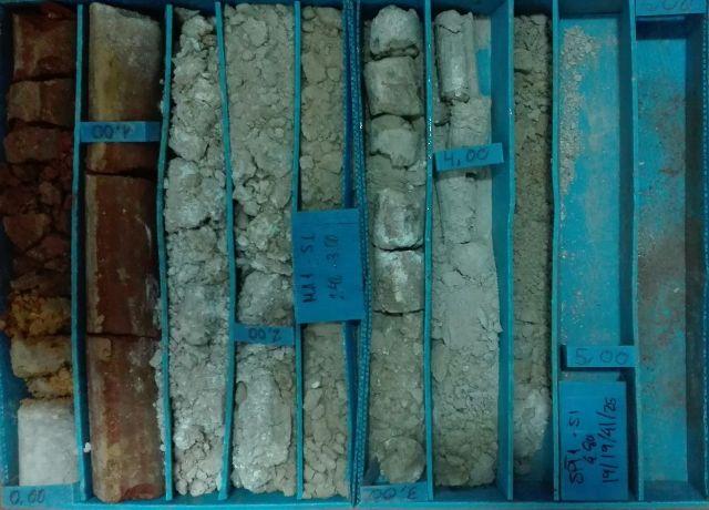 Sondeo geotecnico aljarafe